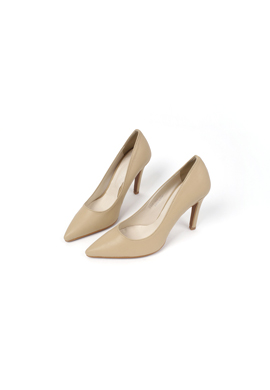 beige_ pumps