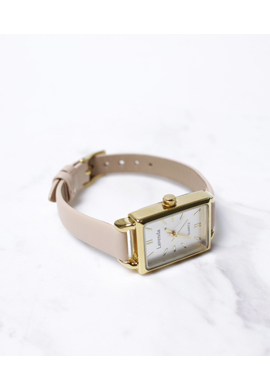 nude-beige watch