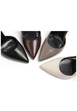[4color] leather inside_ pumps