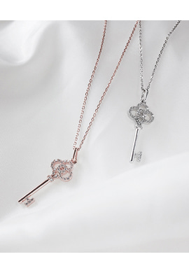 T key long_ necklace