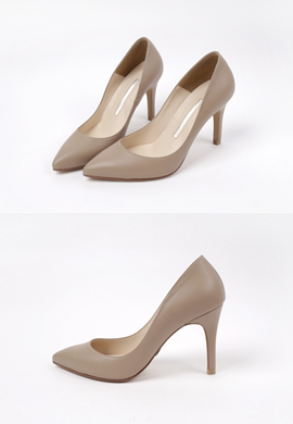[수제화] matt leather_ pumps