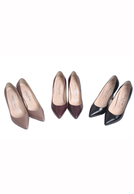 [소가죽]Pigalle Pumps (3color)